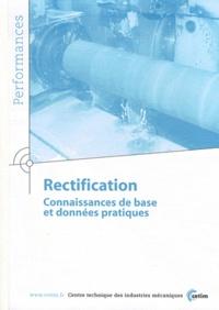 CETIM - Rectification - Connaissances de base et données pratiques.