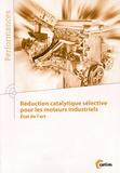CETIM - Réduction catalytique sélective pour les moteurs industriels - Etat de l'art.