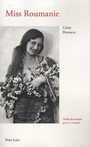 Cezar Petrescu - Miss Roumanie.