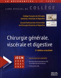 CFCGVD et  CNUCVD - Chirurgie générale, viscérale et digestive.