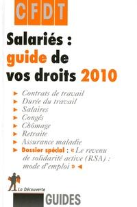 CFDT - Salariés : guide de vos droits.