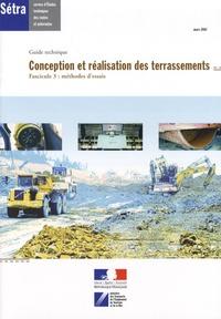 Ucareoutplacement.be Conception et réalisation des terrassements - Fascicule 3 : méthodes d'essais Image