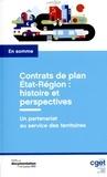 CGET et Jean-Michel Thornary - Contrats de plan Etat-Région : histoire et perspectives.