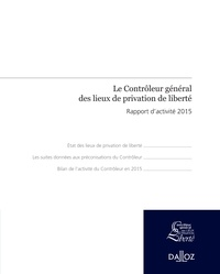 Histoiresdenlire.be Le Contrôleur général des lieux de privation de liberté - Rapport d'activité 2015 Image