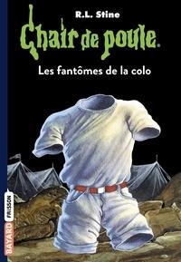 Chair de poule, Tome 32 : Les fantômes de la colo.