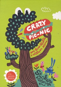 Chamo - Crazy pic-nic - Stickers et coloriage.