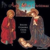 Champeaux - An english christmas - CD - English cathedral choir.