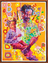 Chana Sheldon - Africobra - Messages to the people.