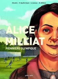 Chandre et Didier Quella-Guyot - Personnages célèbres en BD  : Alice Milliat. Pionnière olympique.
