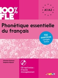 Chanèze Kamoun et Delphine Ripaud - Phonétique essentielle du français A1-A2. 1 CD audio MP3