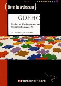 Ucareoutplacement.be Gestion et développement des ressources humaines A3 BTS AG PME-PMI - Livre du professeur Image