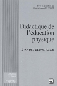 Deedr.fr Didactique de l'éducation physique - Etat des recherches Image