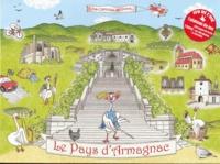 Chantal Armagnac et Frédéric Ruault - Le Pays d'Armagnac - Jeu de l'oie.