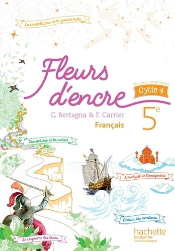 Francais 5e Cycle 4 Fleurs D Encre