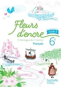 Openwetlab.it Français 6e cycle 3 Fleurs d'encre - Livre de l'élève Image