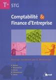 Chantal Boitel et Cédric Brunnarius - Comptabilité et Finance d'Entreprise Tle STG.