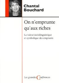 Chantal Bouchard - .