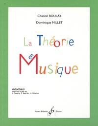 Chantal Boulay et Dominique Millet - La théorie en musique.