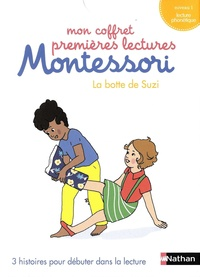 Chantal Bouvÿ et Sabine Hofmann - La botte de Suzi - 3 histoires pour débuter dans la lecture. Niveau 1 lecture phonétique..