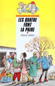 Chantal Cahour - Les quatre font la paire.
