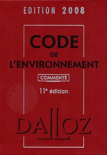 Chantal Cans et Philippe Billet - Code de l'environnement 2008.
