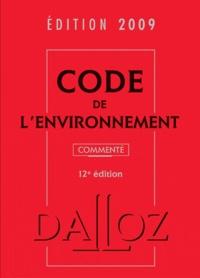 Chantal Cans - Code de l'environnement 2009.