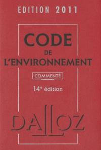 Chantal Cans et Philippe Billet - Code de l'environnement 2011.