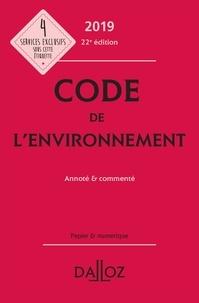 Chantal Cans et Jessica Makowiak - Code de l'environnement - Annoté & commenté.