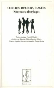 Chantal Claudel et Patricia von Münchow - Cultures, discours, langues - Nouveaux abordages.