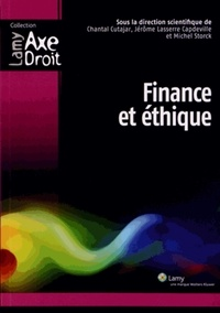 Chantal Cutajar et Jérôme Lasserre Capdeville - Finance et éthique.