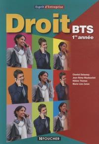 Chantal Delaunay-Chevalier et Jean-Rémy Mautouchet - Droit BTS 1re année Esprit d'entreprise.
