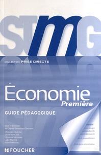 Chantal Delaunay-Chevalier - Economie 1e STMG - Guide pédagogique.
