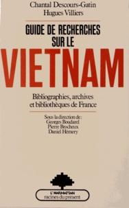 Guide de recherches sur le Vietnam - Bibliographies, archives et bibliothèques de France.pdf