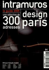 Chantal Hamaide - Design Paris - Le guide 2005 bilingue anglais-français.