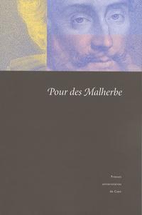 Chantal Liaroutzos et Laure Himy-Piéri - Pour des Malherbe.