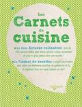 Chantal Nicolas - Les Carnets de cuisine - 2 volumes.