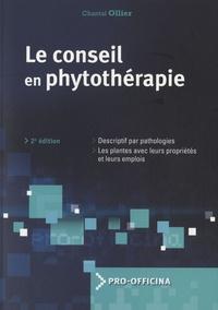 Chantal Ollier - Le conseil en phytothérapie.