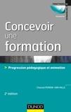 Chantal Perrin-Van Hille - Concevoir une formation - Progression pédagogique et animation.