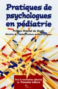 Chantal Singly - Pratiques de psychologues en pédiatrie - Hôpital d'enfants Armand-Trousseau.