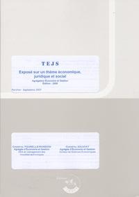 Chantal Tourelle-Randon - TEJS Exposé sur un thème économique, juridique et social - Agrégation économie et gestion.