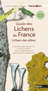 Chantal Van Haluwyn et Juliette Asta - Guide des Lichens de France - Lichens des arbres.