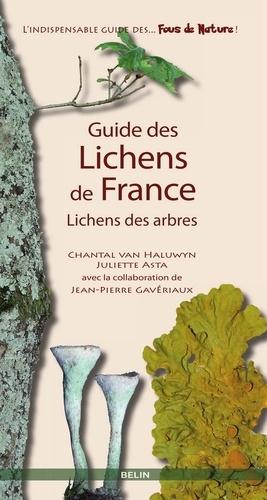 Guide des lichens de France. Lichens des arbres