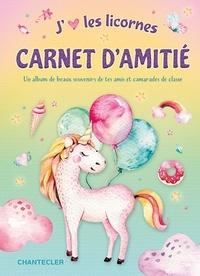 Deedr.fr Carnet d'amitié licorne Image