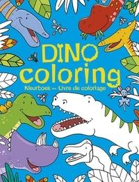 Chantecler - Dino coloring - Livre de coloriage.