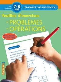 Chantecler - Feuilles d'exercices: Problèmes, opérations.