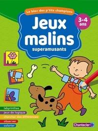 Chantecler - Jeux malins superamusants 3-4 ans.