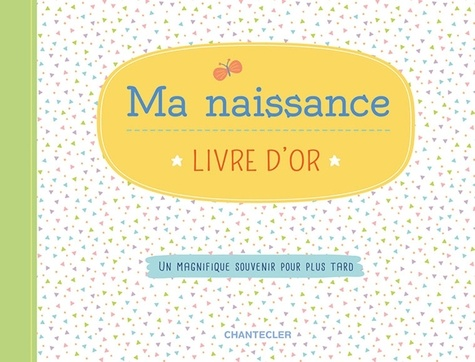 Ma Naissance Livre D Or Grand Format