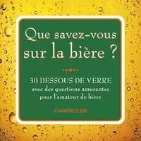 Que savez-vous sur la bière ? - 30 dessous de verre avec des questions amusantes pour lamateur de verre.pdf