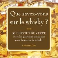 Histoiresdenlire.be Que savez-vous sur le whisky ? - 30 dessous de verre avec des questions amusantes pour l'amateur de Whisky Image