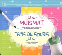 Cjtaboo.be Tapis de souris Mémo - A utiliser comme tapis et bloc-notes! Image